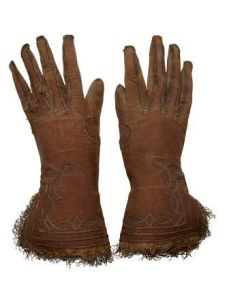 A pair of 16th century gloves