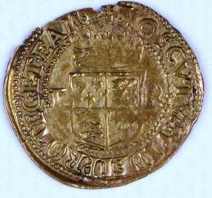 Half gold crown