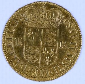 Gold half sovereign